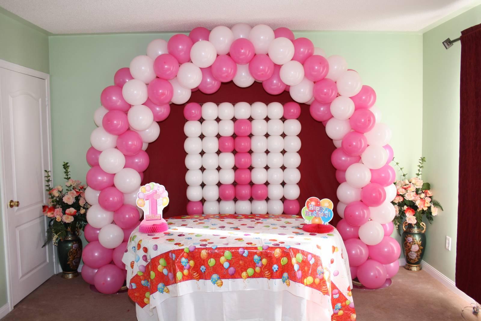 balloon birthday decoration Home Decor 2017